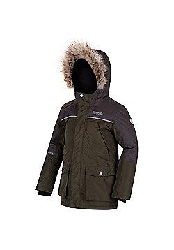 Regatta Paxton Hooded Parka Jacket - Khaki