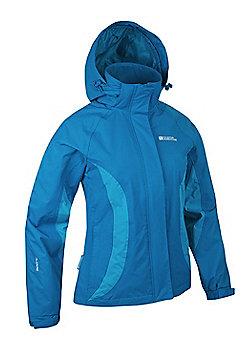 Gust II Womens Waterproof Jacket - Aqua