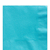 Turquoise Luncheon Napkins - 2ply Paper - 50 Pack