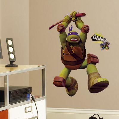 Nickleodeon Teenage Mutant Ninja Turtles Donatello Giant Wall Sticker