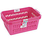 Wham Medium Handy Basket 3 Pack Pink