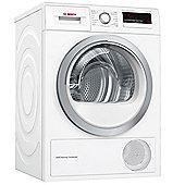 Bosch WTM85230GB 8kg Freestanding Heat Pump Tumble Dryer - White