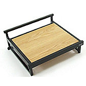 Apollo WT1 SE Oak Veneer Hi-Fi Rack - Silk Black