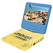 Lexibook Minions 7 Inch Portable DVD Player