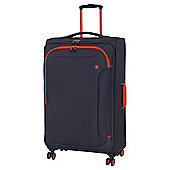 IT Luggage The-Lite Chicane 8 Wheel Blue/Orange Large Suitcase