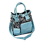 Tippitoes Girl About Town Changing Bag (Turquoise)