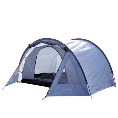 North Gear C&ing Exodus Waterproof 4 Man Tunnel Tent Blue  sc 1 st  Tesco & Buy North Gear Camping Exodus Waterproof 4 Man Tunnel Tent Blue ...