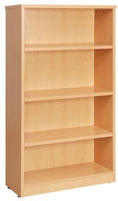 WoodstockLeaBank Fraction Bookcase - Oak - 160cm H x 80 cm W
