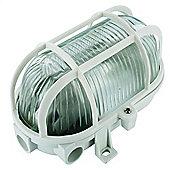 Byron Elro BE60W GLS Plastic Bulkhead White,60W