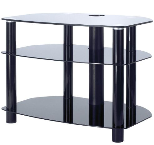 32 inch LCD TV Stand - all black