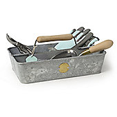 Burgon and Ball Sophie Conran Galvanised Steel Trug