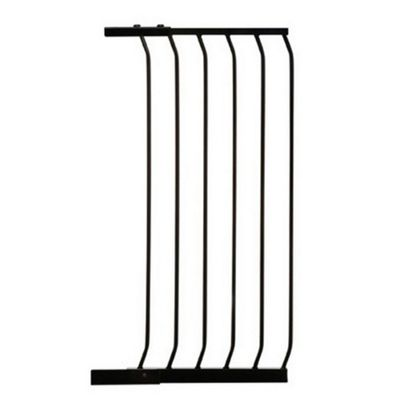 45cm Extra Tall Gate Extension Black - F842B - Dreambaby