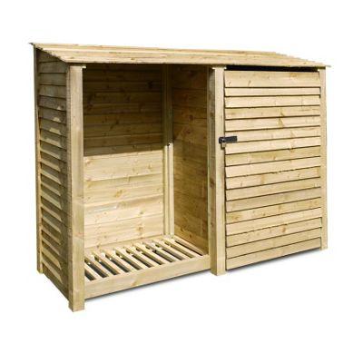 Normanton wooden tool store