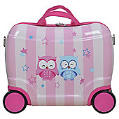 Tesco  Kids Wheelie Case Girl