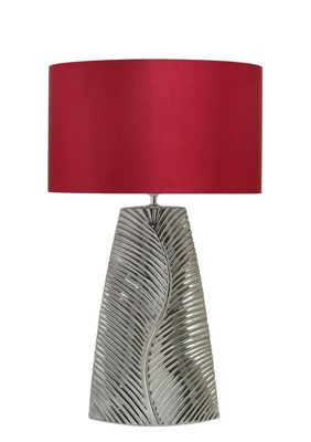 75cm Feather Table Lamp
