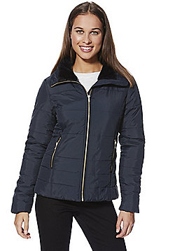 Only Puffer Jacket - Blue