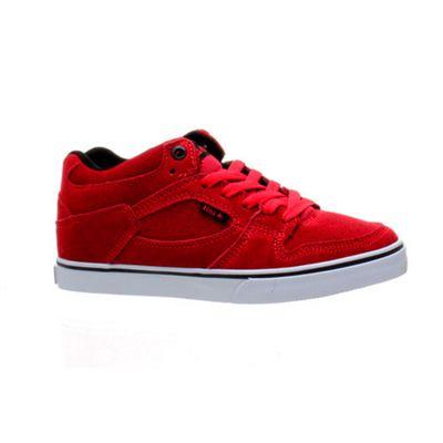 Emerica Hsu Kids Red Shoe