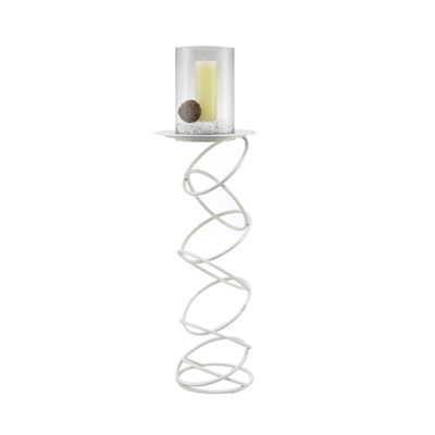 Zodiac Floor Stand Candle Holder 117cm White