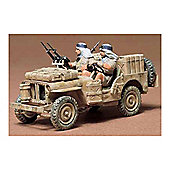 British Special Air Service Jeep - 1:35 Scale Military - Tamiya