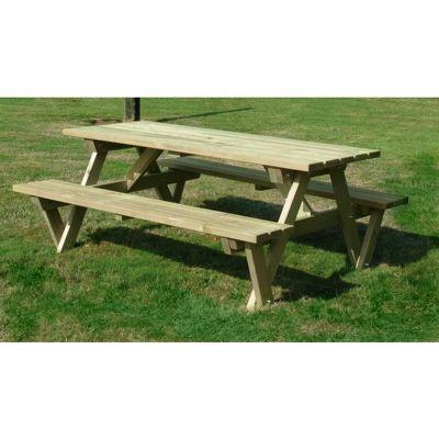 Heavy Duty A Frame Picnic Table (140cm length)