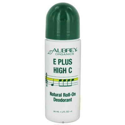 Aubrey Organics E Plus High C Roll-On Deodorant