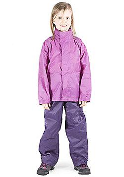 Pakka Kid's Waterproof Trousers - Purple