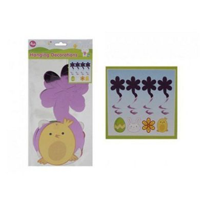 Easter Themed Hanging Swirls 4 Pack