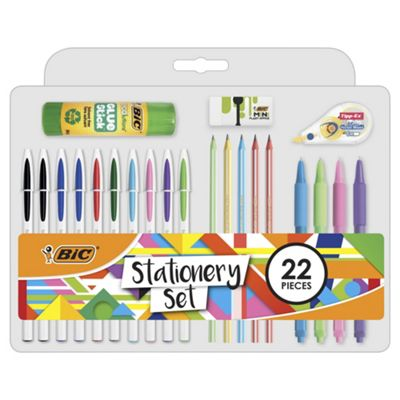 Bic Stationery Set 22 pieces