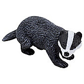 Realistic Badger Figurine Toy by Animal Planet