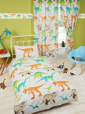 Dinosaur World Junior Duvet Cover Set