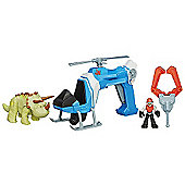 Playskool Heroes Jurassic World Deluxe Dino Tracker Copter