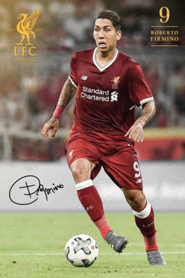 Liverpool FC Firmino 17-18 LFC Poster 61x91.5cm