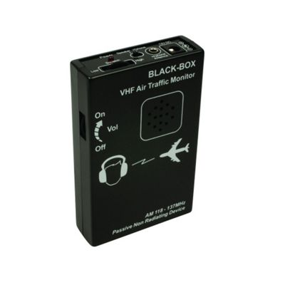 Black Box MKII VHF Air Traffic Monitor