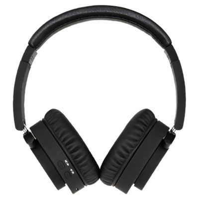 Groov-e GVBT400BK Fusion Wireless Bluetooth or Wired Stereo Headphones - Black