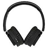GROOV-E Bluetooth Overhead Headphone with Mic & 3.5mm Line In Black