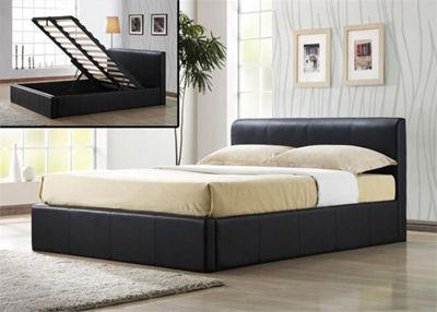 House Additions Ottoman Storage Bed Frame - Small Double (4')