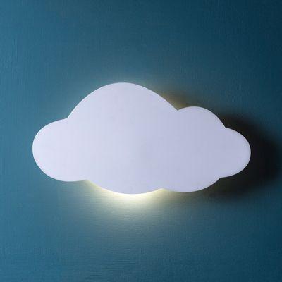 Battery LED Cloud Wall Light