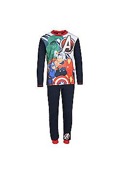 Marvel Avengers Boys Pyjamas - Black