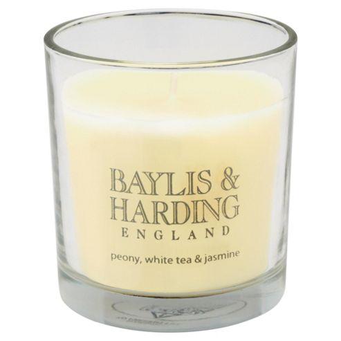 Baylis & Harding Boxed Candle Peony, White Tea & Jasmine