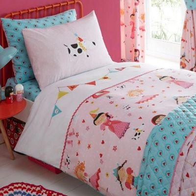 Dressing Up, Embroidered Single Bedding