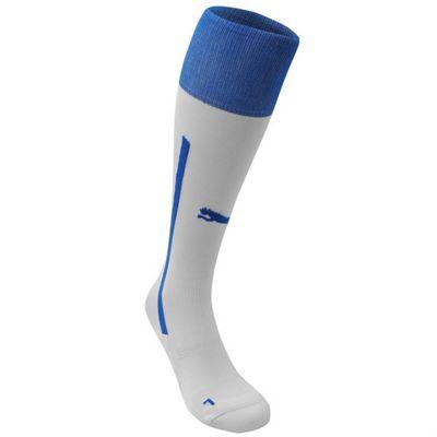 2014-15 Italy Away Puma Football Socks (White) - Kids