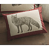 Dreams n Drapes Connolly Check Red Cushion Cover 38x28cm