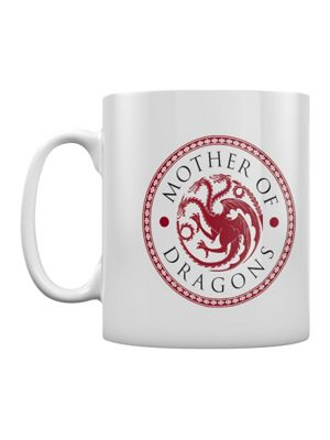 Game of Thrones Mother of Dragon's White 10oz Ceramic Mug