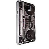 GriffiN BOOMBOX Plastic Hard Case - Retro Radio Design for Samsung Galaxy S2 i9100 - TECH-01-SGS2-New