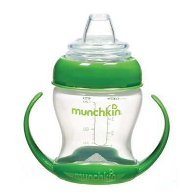 Munckin Flexi-Transition Trainer Cup - 4Oz (Green)