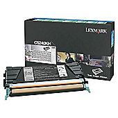 Lexmark Black High Yield Return Program Toner Cartridge 00C5240KH