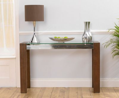 Mark Harris Roma Walnut Console Table