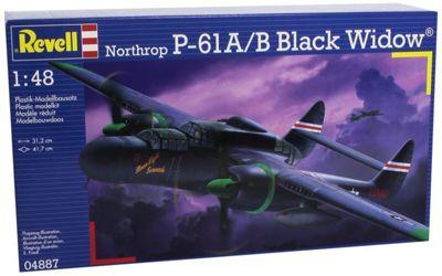 P-61B Black Widow Aircraft 1:48 Scale Model Kit - Hobbies