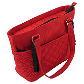 Summer Infant Changing Bag Quilted Tote Red