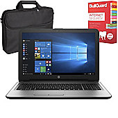 "HP 250 G5 15.6"" Laptop Intel Core i5-6200U 12GB 256GB SSD With BullGuard Internet Security & Case"